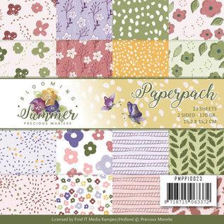 Precious Marieke Papierblock, Precious Marieke , Blooming Summer