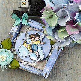 Prima Marketing und Petaloo Prima Marketing, francobollo, filastrocche, 6,35x7,62 cm