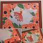 3D Embossing Folder, bloemenlijst, 106x150mm