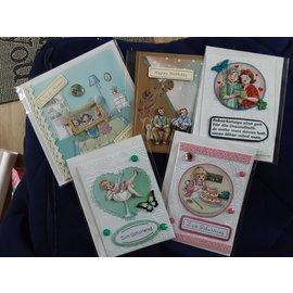 Yvonne Creations ¡Creaciones de Yvonne, colección Bubbly Girls, 8 hojas!
