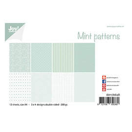 Joy!Crafts / Jeanine´s Art, Hobby Solutions Dies /  Joy Crafts, papirsæt, designmønster, A4