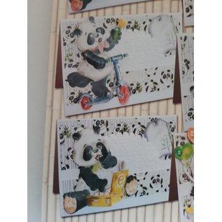 BASTELSETS / CRAFT KITS volledige kaart set, Panda Parade