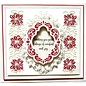 CREATIVE EXPRESSIONS und COUTURE CREATIONS NEW: punching and embossing template: Christmas Scene