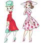 C.C.Designs CC design, stamp, transparent, fashionistas