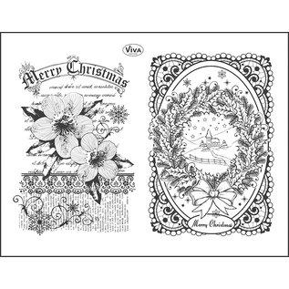 VIVA DEKOR (MY PAPERWORLD) Viva Decor, motif stamp, transparent, Christmas