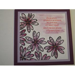 VIVA DEKOR (MY PAPERWORLD) I timbri trasparenti, fiori 3D