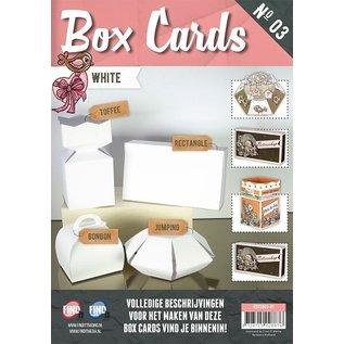 Dekoration Schachtel Gestalten / Boxe ... Box Cards Book, es un libro con 8 cajas básicas precortadas y predobladas