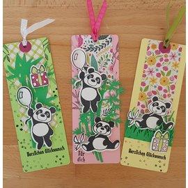 Marianne Design Animales de Eline - Formato de paquete de pandas, sellos y plantillas de perforación: 150 x 210 mm