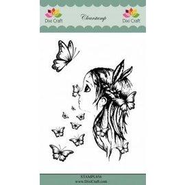 CREATIVE EXPRESSIONS und COUTURE CREATIONS Motivo del francobollo, Dixi Craft