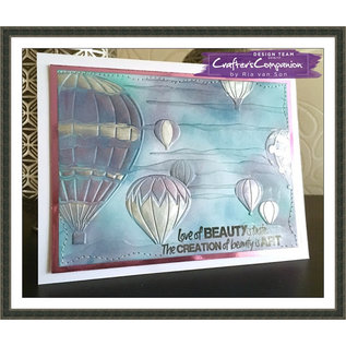 Crafter's Companion SHEENA Douglass, 3D embossing folder, A5