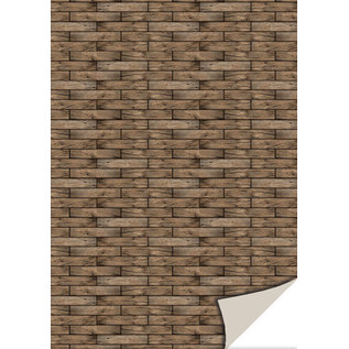 Reddy Creative Cards, karton, riet, 250gr / m², 24x34cm