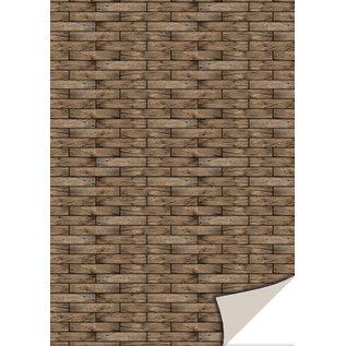 Reddy Creative Cards,Kartenkarton,Holzgeflecht,250g/m²,24x34cm