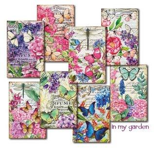 decorer Decorer, In my Garden, 24 Paper Toppers