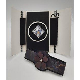 Docrafts / Papermania / Urban Papermania, Motiv Papier, Dark Florals, 30,5 x 30,5 cm, 50 Blatt! 160 gsm!