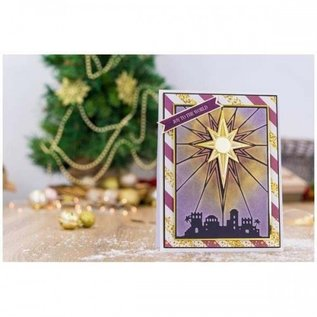 Crafter's Companion Embossing map, Nativity The Brightest Star
