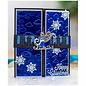 Gemini Stempelsjabloon, Tweelingen, sledelint van de kerstman