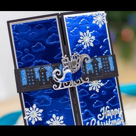 Gemini Stamping template, Gemini, Santa's sleigh ribbon