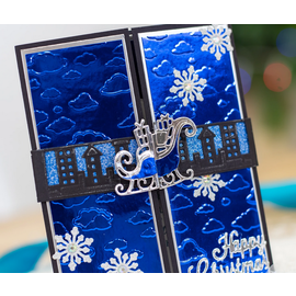 Gemini Stempelstempel, Tvillingene, julenissens sledebånd