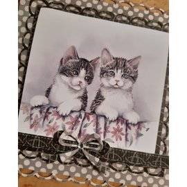 Marianne Design Picture sheet, A4, Mattie's most beautiful animal pictures