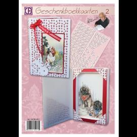 BASTELSETS / CRAFT KITS Juego completo de manualidades tarjetas de libro.