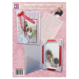 BASTELSETS / CRAFT KITS set completo di carte del libro di artigianato
