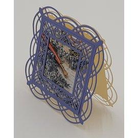 Spellbinders und Rayher Snijmallen, Adoria Square Shadowbox Frame  S5-390