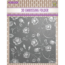Nellie Snellen 3D embossing folder