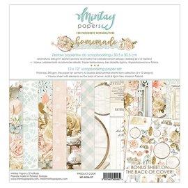 Mintay und Ciao Bella Tout nouveau bloc de papier Mintay 12x12 fait maison