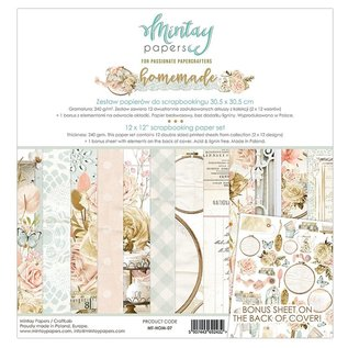 Mintay und Ciao Bella  Brandneue Mintay 12x12 Paper Pad Homemade