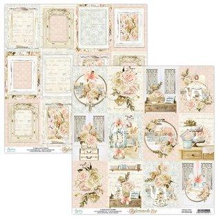 Mintay und Ciao Bella Helt nyt Mintay 12x12 papirpude hjemmelavet
