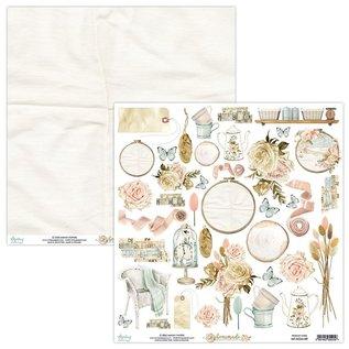 Mintay und Ciao Bella Splitter nye Mintay 12x12 Paper Pad Hjemmelaget