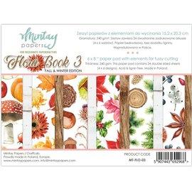 Mintay und Ciao Bella Brand new Mintay, 152 x 203mm, Paper Pad Flora Book
