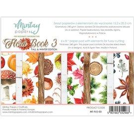 Mintay und Ciao Bella Mintay nuovissimo, 152 x 203 mm, blocco di carta Flora Book