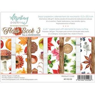 Mintay und Ciao Bella Brand new Mintay, 152 x 203mm, Paper Pad Flora Book