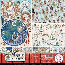 Mintay und Ciao Bella Nuevo bloc de papel Ciao Bella 12x12 Northern Lights