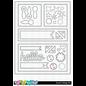C.C.Designs Stanzschablonen: Embellishments und Kollage Rahmen