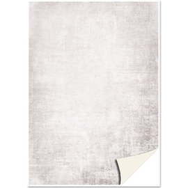 Karten und Scrapbooking Papier, Papier blöcke 5 ark karton, pergament look, grå