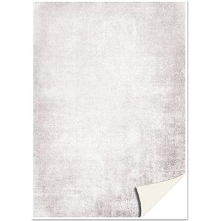 Karten und Scrapbooking Papier, Papier blöcke 5 sheets of card stock, parchment look, gray