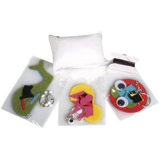 Craft kit: Morsomme dyr, 4-9 cm, 3 typer