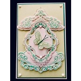 Marianne Design Stanzschablonen, Petra's heart