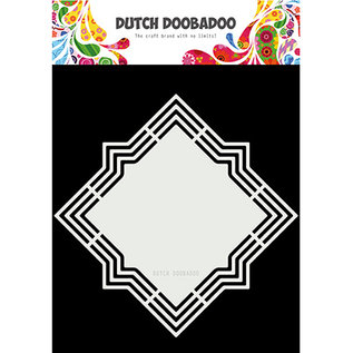 Dutch DooBaDoo Kunstschablone, Dutch Shape Art Lola, 210 x 210mm