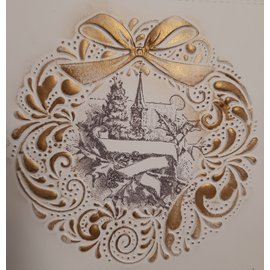 Nellie Snellen 3D embossing folder, for 3D relief embossing on paper with a punching machine