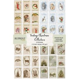 Reprint Gloednieuw! Vintage Kerstcollectie