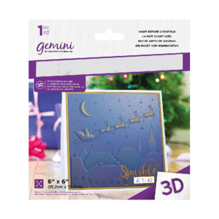 Crafter's Companion 3D embossing folder