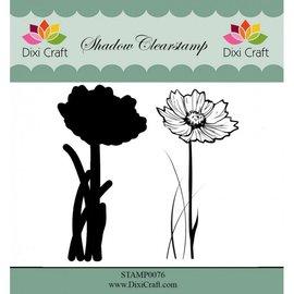 Stempel / Stamp: Transparent Stempelmotief, transparant, bloem