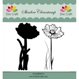 Stempel / Stamp: Transparent Stempelmotiv, transparent, Blume