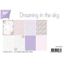 Juego de papel A4 - Soñando en el cielo