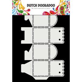 Dutch DooBaDoo Plastik Schablone, zur Gestaltung von Schachtelchen