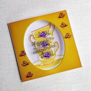Crafter's Companion Snijmallen / Snijsjablonen     + stamps