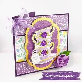 Crafter's Companion Plantillas de corte  + stamps
